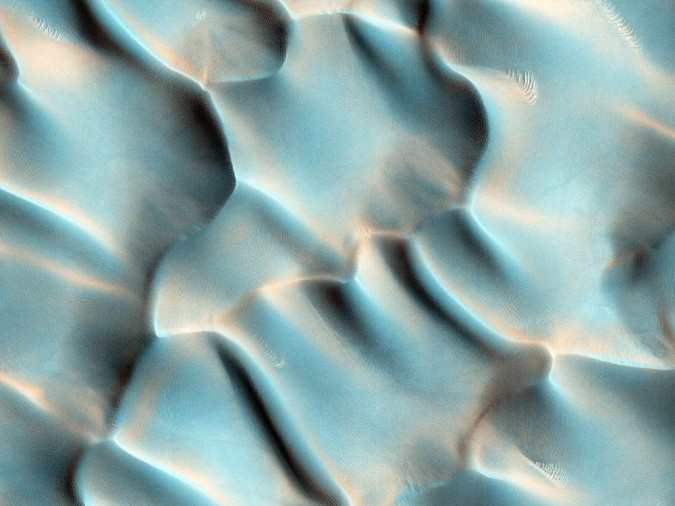 surface de Mars, avec la permission de HiRISE14