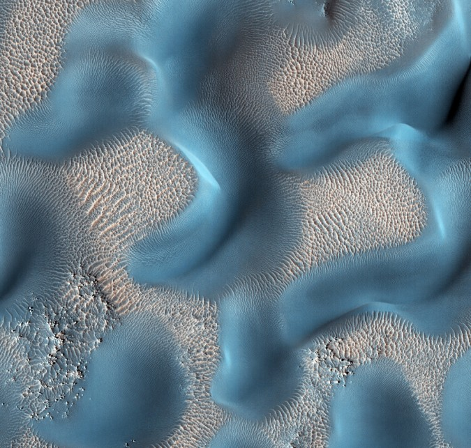 surface de Mars, avec la permission de HiRISE2
