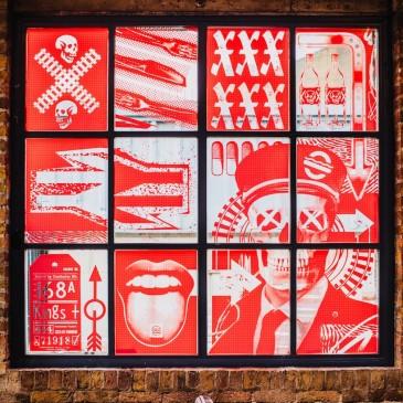 INSPIRATION# Design d'Espace  du restaurant MEATliquor à Londres par l 'agence SHED.