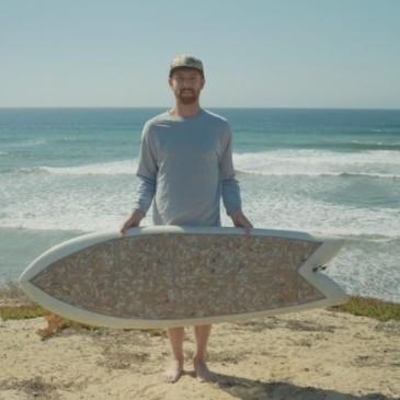 INSPIRATION# La planche de surf «upcyclée»